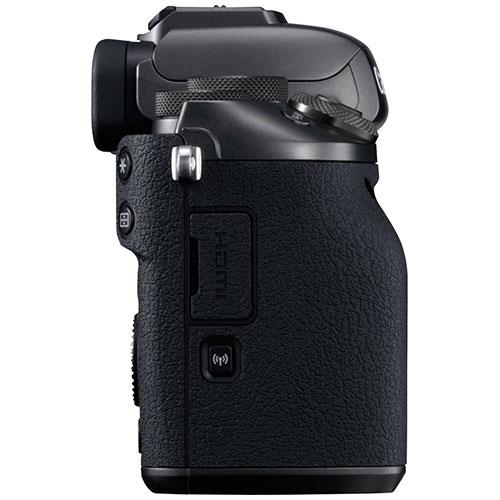 EOS M5 Mirrorless Camera Body in Black Product Image (Secondary Image 3)