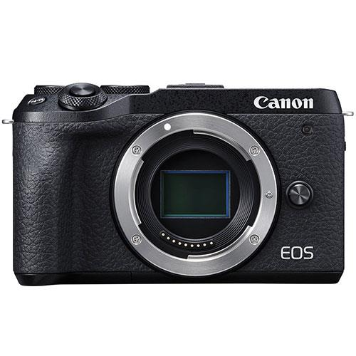 EOS M6 Mirrorless Camera Body in Black Product Image (Primary)