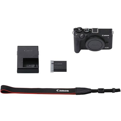 EOS M6 Mirrorless Camera Body in Black Product Image (Secondary Image 4)