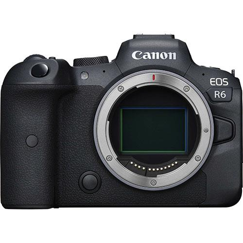 EOS R6 Mirrorless Camera Body Product Image (Primary)