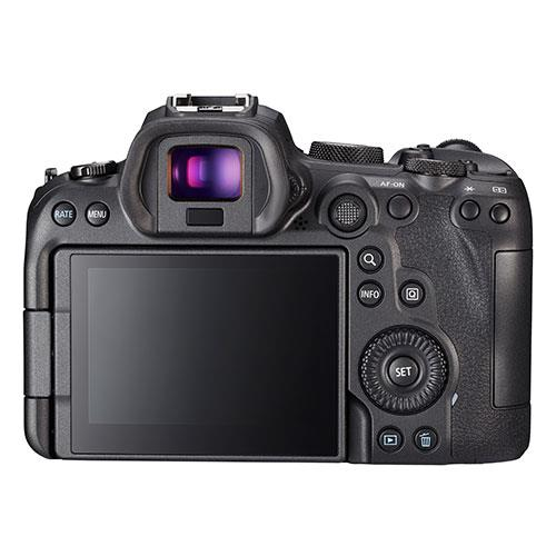 EOS R6 Mirrorless Camera Body Product Image (Secondary Image 2)