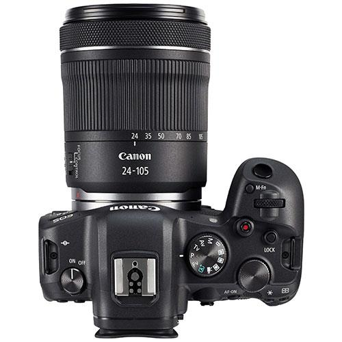 EOS R6 Mirrorless Camera with RF 24-105mm F4-7.1 IS STM Lens Product Image (Secondary Image 5)