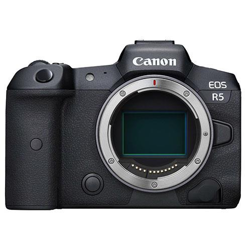 EOS R5 Mirrorless Camera Body Product Image (Primary)