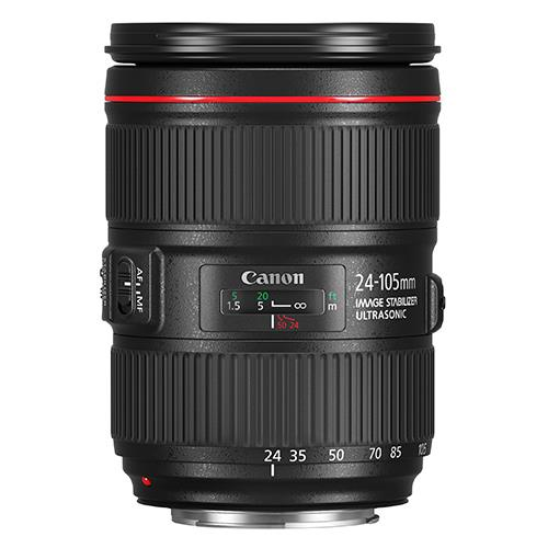EF 24-105mm f/4L IS II USM Lens Product Image (Primary)
