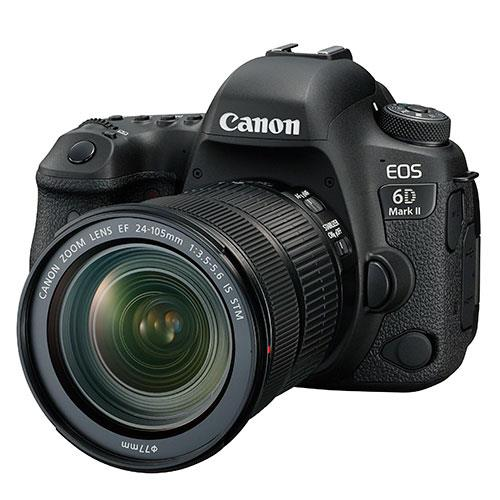 EOS 6D Mark II DSLR + EF 24-105mm f/4L II USM Lens Product Image (Primary)