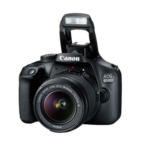 EOS 4000D Digital SLR with EF-S 18-55mm III DC Lens Product Image (Secondary Image 4)