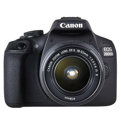 EOS 2000D Digital SLR with EF-S 18-55mm IS II Lens Product Image (Primary)