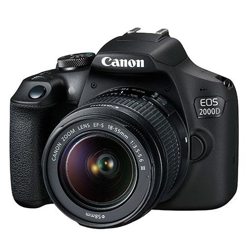EOS 2000D Digital SLR with EF-S 18-55mm DC III Lens Product Image (Secondary Image 3)