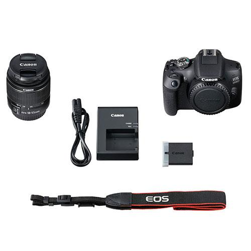EOS 2000D Digital SLR with EF-S 18-55mm DC III Lens Product Image (Secondary Image 5)