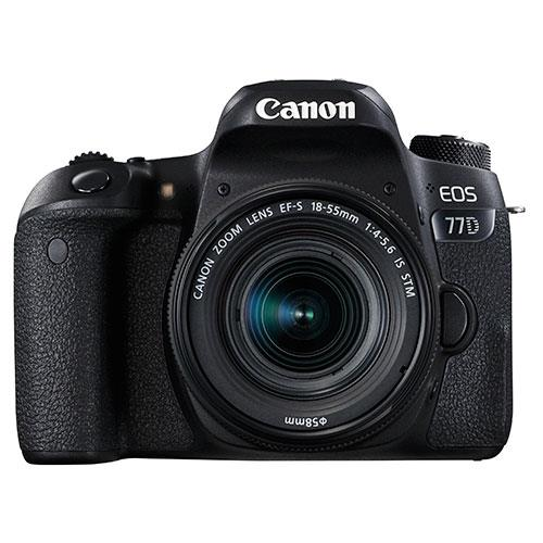 EOS 77D Digital SLR + 18-55mm STM Lens Product Image (Secondary Image 1)