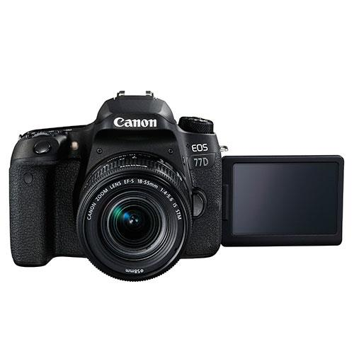 EOS 77D Digital SLR + 18-55mm STM Lens Product Image (Secondary Image 2)