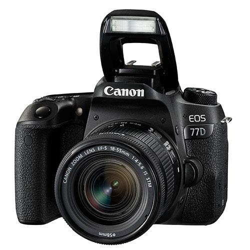 EOS 77D Digital SLR + 18-55mm STM Lens Product Image (Secondary Image 3)