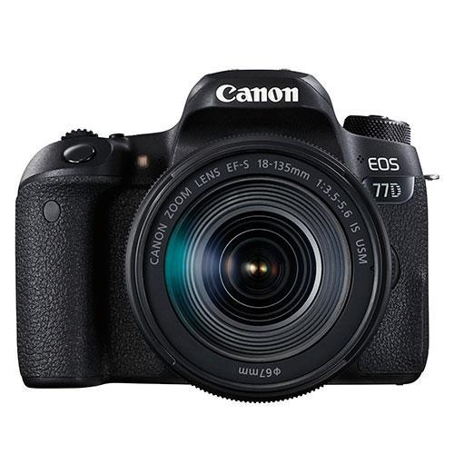 canon eos 77d digital slr with 18 135mm usm lens jessops. Black Bedroom Furniture Sets. Home Design Ideas