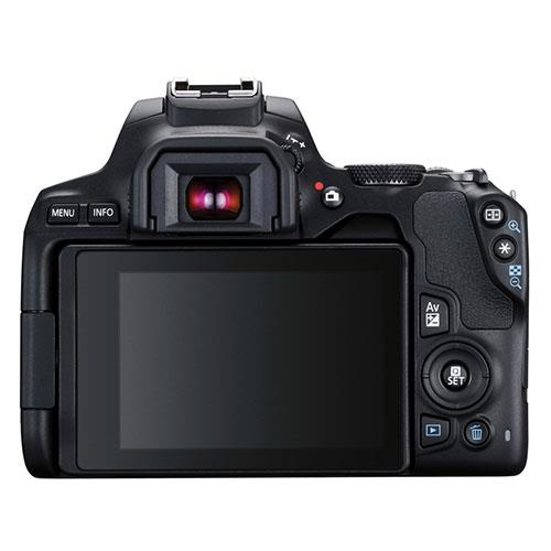 EOS 250D Digital SLR in Black with 18-55mm DC Lens Product Image (Secondary Image 2)