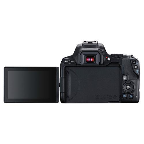 EOS 250D Digital SLR in Black with 18-55mm DC Lens Product Image (Secondary Image 3)