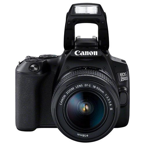 EOS 250D Digital SLR in Black with 18-55mm DC Lens Product Image (Secondary Image 5)