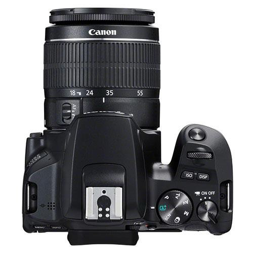EOS 250D Digital SLR in Black with 18-55mm DC Lens Product Image (Secondary Image 6)