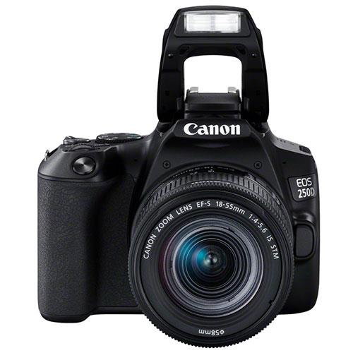 EOS 250D Digital SLR in Black with 18-55mm IS Lens Product Image (Secondary Image 5)