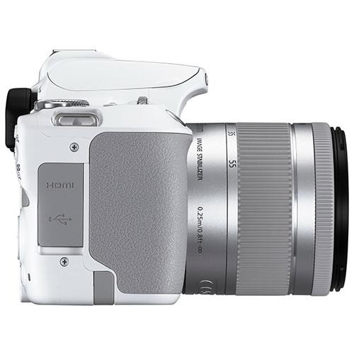 EOS 250D Digital SLR in White with 18-55mm IS Lens Product Image (Secondary Image 6)
