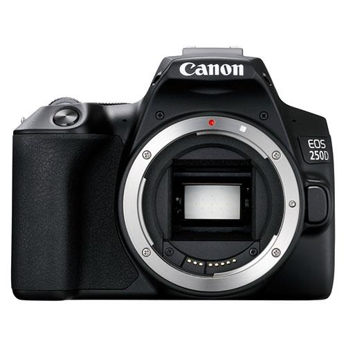 EOS 250D Digital SLR Body in Black Product Image (Primary)