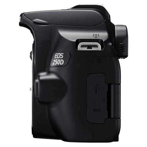 EOS 250D Digital SLR Body in Black Product Image (Secondary Image 5)