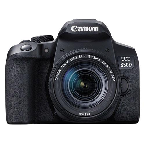 EOS 850D Digital SLR with EF-S 18-55mm IS STM Lens Product Image (Primary)