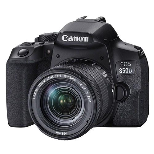 EOS 850D Digital SLR with EF-S 18-55mm IS STM Lens Product Image (Secondary Image 1)