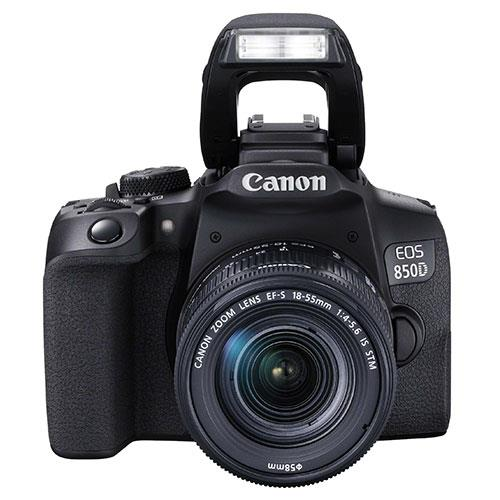 EOS 850D Digital SLR with EF-S 18-55mm IS STM Lens Product Image (Secondary Image 4)