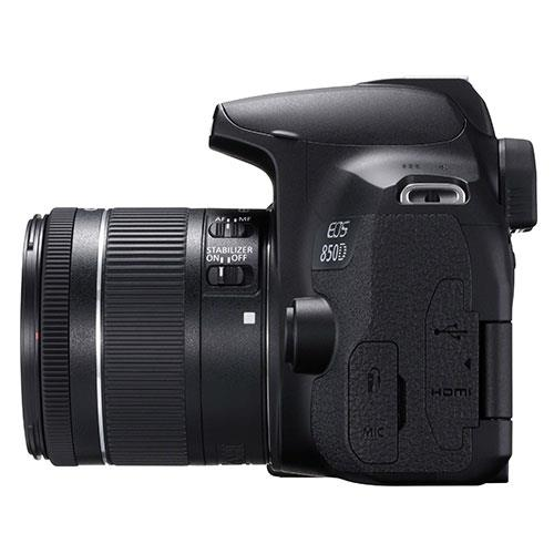 EOS 850D Digital SLR with EF-S 18-55mm IS STM Lens Product Image (Secondary Image 6)