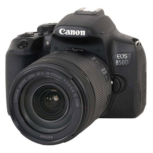 EOS 850D Digital SLR with EF-S 18-135mm IS USM Lens Product Image (Primary)