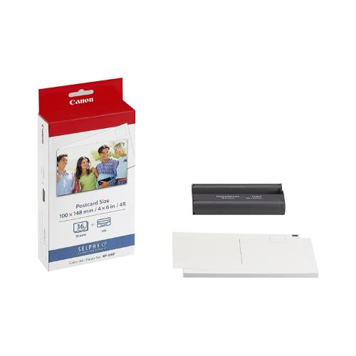 SELPHY 6x4 Paper Set - 36 Sheets KP-36IP Product Image (Primary)