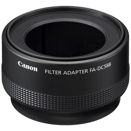 FA-DC58B 58mm Filter Adapter for G12 - Ex Display Product Image (Primary)