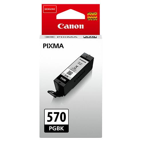 PGI-570 Black Ink Cartridge Product Image (Primary)