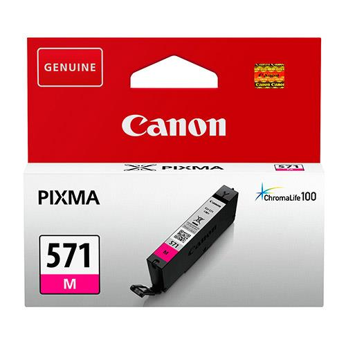 CLI-571 Magenta Ink Cartridge Product Image (Primary)