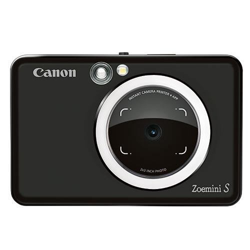 Zoemini S Instant Camera in Matt Black Product Image (Primary)