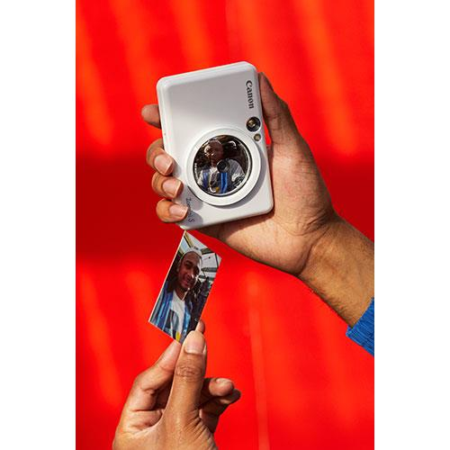 Zoemini S Instant Camera in White Product Image (Secondary Image 4)