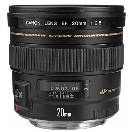 EF 20mm f/2.8 USM Lens  Product Image (Primary)