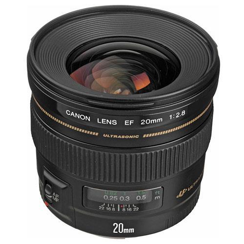 EF 20mm f/2.8 USM Lens  Product Image (Secondary Image 1)