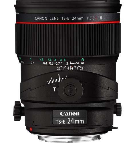 TS-E 24mm f3.5L Mk II Lens Product Image (Secondary Image 1)