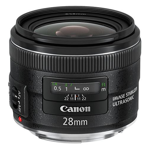 EF 28mm f/2.8 IS USM Lens Product Image (Primary)