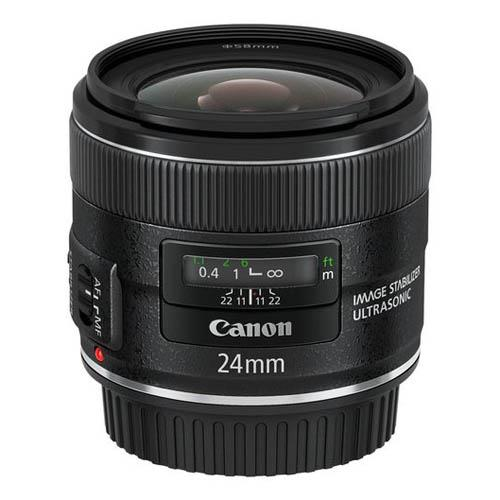 CANON EF 24mm F2.8 IS USM LENS Product Image (Secondary Image 2)