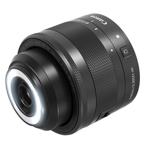 EF-M 28mm f/3.5 Macro IS STM Lens Product Image (Primary)