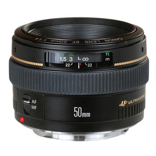 EF 50mm f/1.4 USM Lens Product Image (Primary)