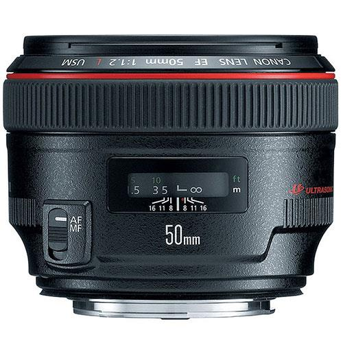 EF 50mm f/1.2 L USM Lens Product Image (Primary)