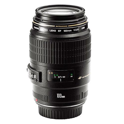 EF 100mm F2.8 Macro USM Lens Product Image (Primary)