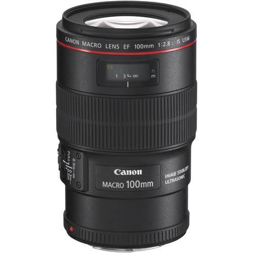 EF 100mm f2.8L Macro IS USM Lens Product Image (Primary)