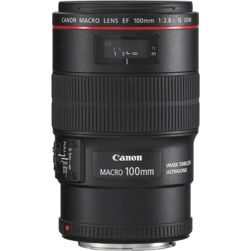 EF 100mm f2.8L Macro IS USM Lens Product Image (Secondary Image 1)