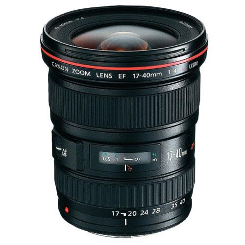EF 17-40mm F4 L Lens Product Image (Primary)