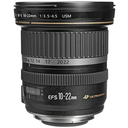 EF-S 10-22mm f/3.5-4.5 USM Lens Product Image (Primary)