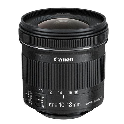 EF-S 10-18mm f/4.5-5.6 IS STM Lens Product Image (Secondary Image 1)